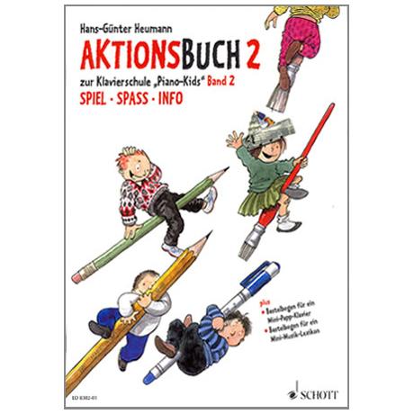 Piano Kids Aktionsbuch 2