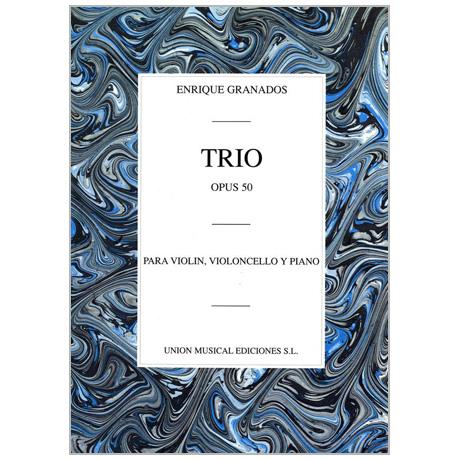 Granados, E.: Klaviertrio Op. 50