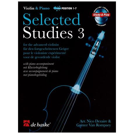 Selected Studies for Violin Band 3 (+2 CD's)