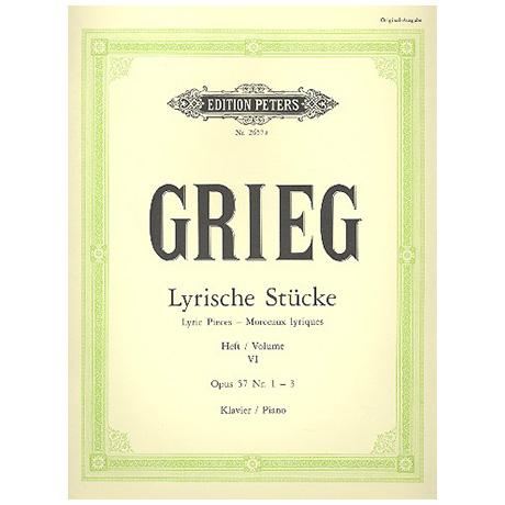 Grieg, E.: Lyrische Stücke Heft VI Op. 57