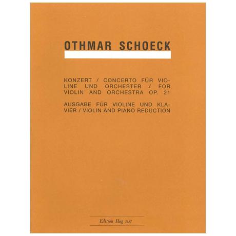 Schoeck, O.: Konzert B-Dur Op.21