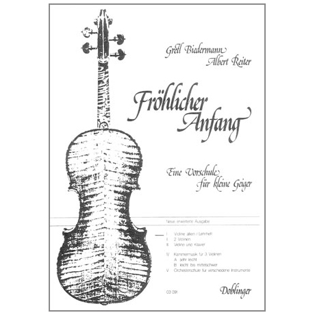 Fröhlicher Anfang – Band 1