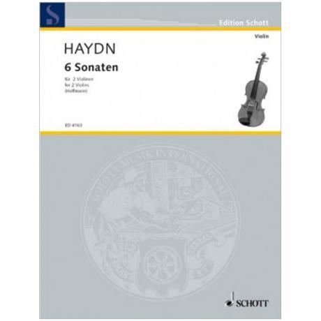 Haydn, J.: 6 Sonaten Hob. VI:G1