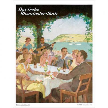 Das frohe Rheinlieder-Buch Band 1 – Klavier
