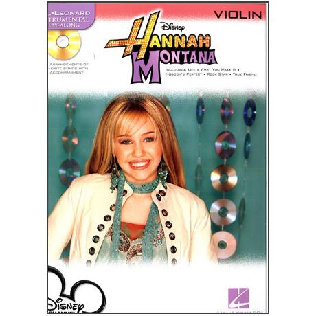 Hannah Montana play along (+CD)