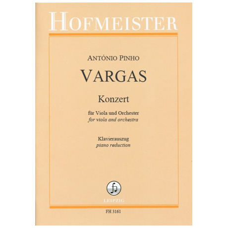 Vargas, A. P.: Violakonzert