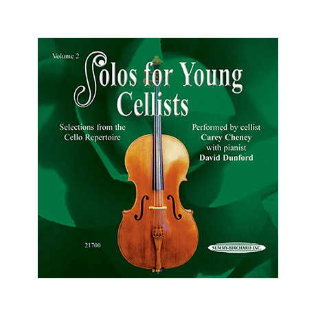 Solos for young Cellists Vol.2 (nur CD)