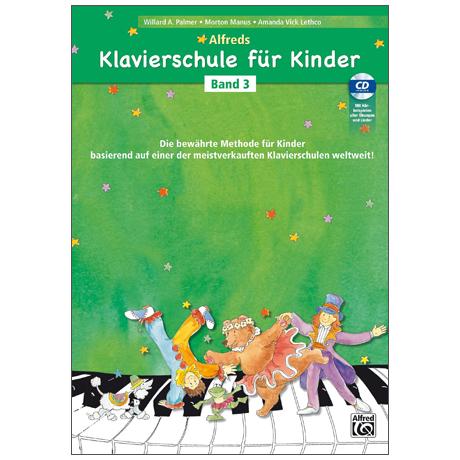 Alfreds Klavierschule für Kinder Band 3 (+CD)