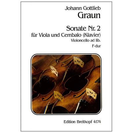 Graun, J. G.: Violasonate Nr. 2 F-Dur