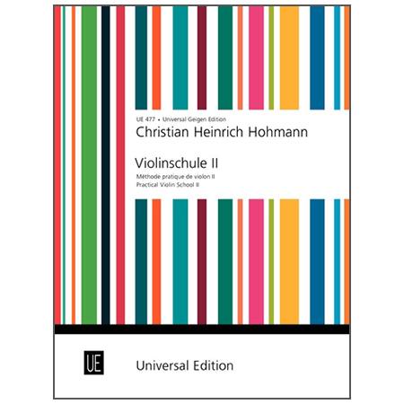 Hohmann, C. H.: Violinschule Band 2