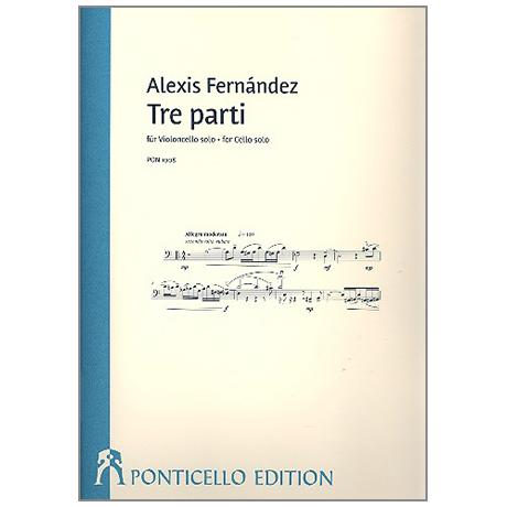Fernández, A.: Tre parti