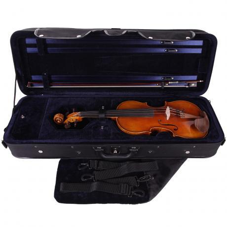 PACATO Livorno Violinetui 4/4 | schwarz/blau