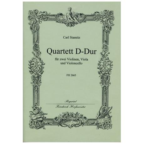 Stamitz, C.: Quartett D-Dur