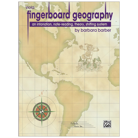 Barber, B.: Fingerboard Geography for Viola – Band 1