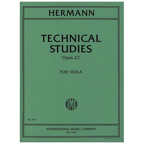 Hermann, F.: Technical Studies Op. 22