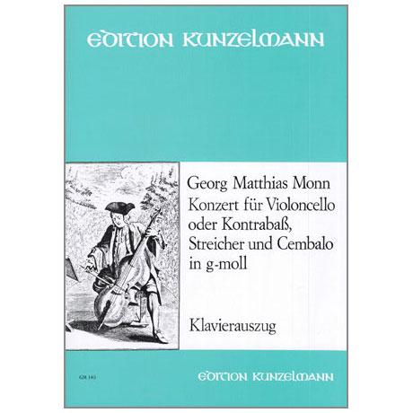 Monn, G.M.: Violoncellokonzert g-moll