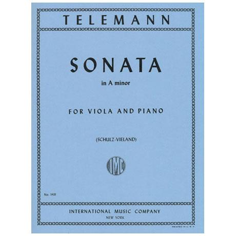 Telemann, G.Ph.: Violasonate TWV41: a 6 a-Moll