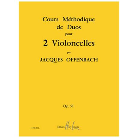 Offenbach, J.: Cours Méthodiques Op. 51