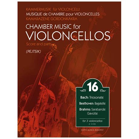 Kammermusik für Violoncelli Band 16