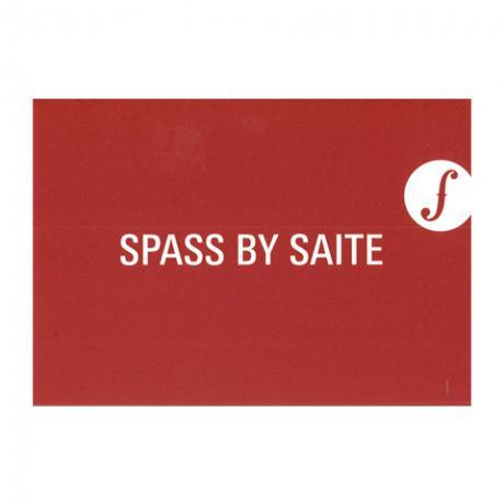 Postkarte SPASS BY SAITE