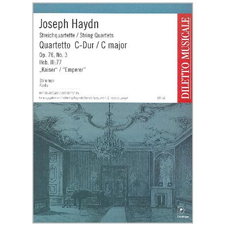 Haydn, J.: Streichquartett C-Dur Op. 76/3 HOB.III:77 »Kaiser-Quartett«