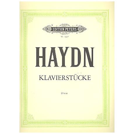Haydn, J.: Klavierstücke und Variationen