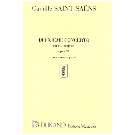 Saint-Saëns, C.: Violinkonzert Nr. 2 Op. 58 C-Dur