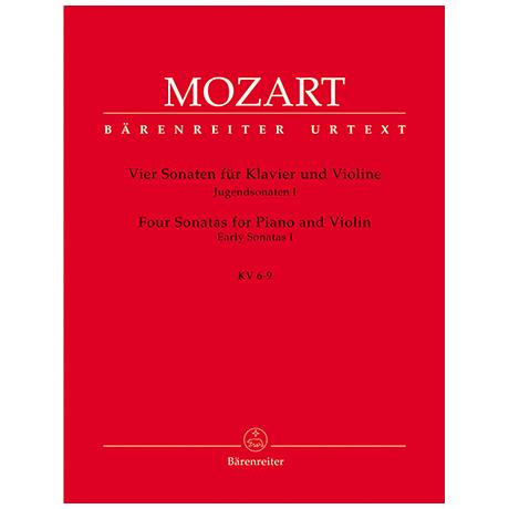 Mozart, W.A.: 4 Sonaten KV 6-9