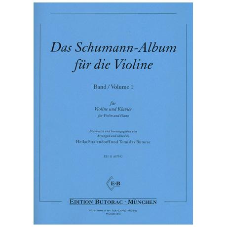 Das Schumann-Album für die Violine Band 1