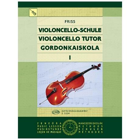 Friss, A.: Schule für Violoncello Band 1
