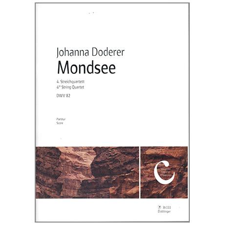 Doderer, J.: 4. Streichquartett DWV 82 »Mondsee« – Partitur