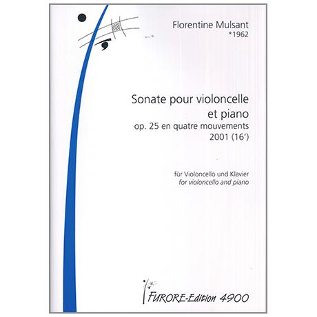 Mulsant, F.: Sonate pour violoncelle et piano Op.25