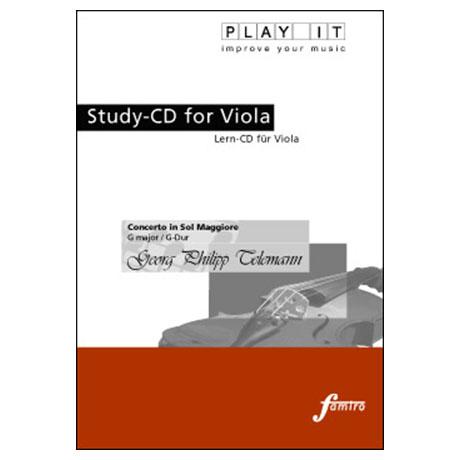 Telemann, Georg Philipp : Konzert G-Dur (nur CD)