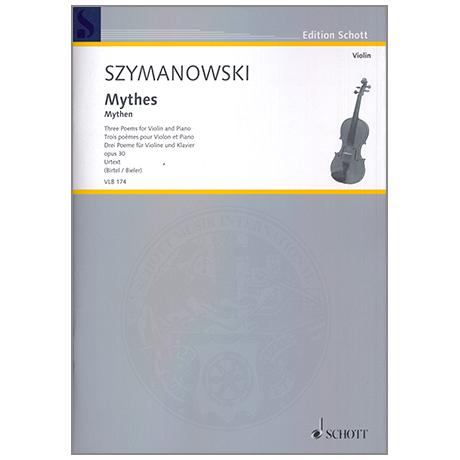 Szymanowski, K.: Mythes Op. 30