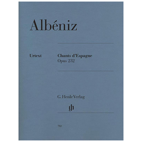 Albéniz, I.: Chants d´Espagne Op. 232