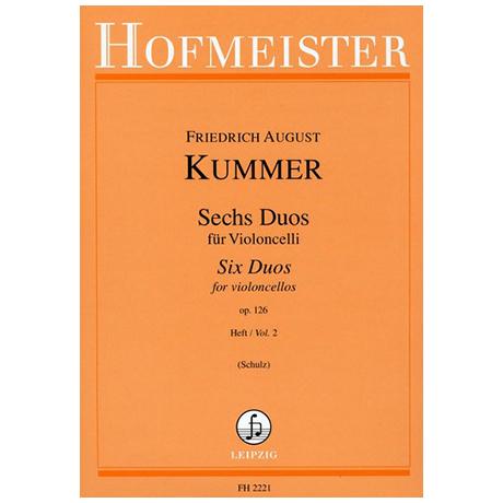 Kummer, F. A.: 6 Duos Op. 126 Band 2 (Nr. 4-6)