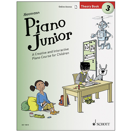 Heumann, H.-G.: Piano Junior –  Theory Book 3