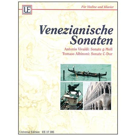 Venezianische Violinsonaten (Albinoni / Vivaldi)