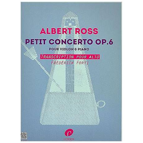 Ross, A.: Kleines Violakonzert Op. 6