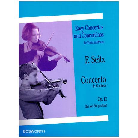 Seitz: Concerto in G op.12