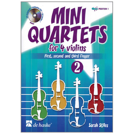 Stiles, S.: Mini Quartets Band 2 (+CD)