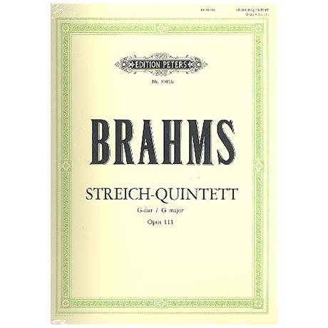 Brahms, J.: Streichquintett Nr. 2 G-Dur, Op. 111