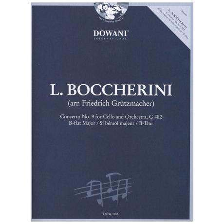 Boccherini, L.: Violoncellokonzert Nr. 9 G 482 B-Dur (+2 CD's)