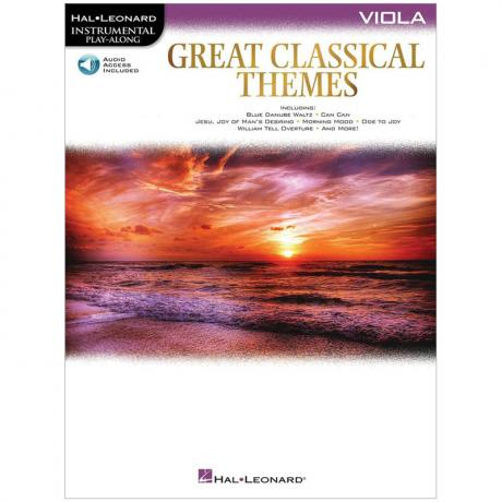 Great Classical Themes for Viola (+ Online Audio)