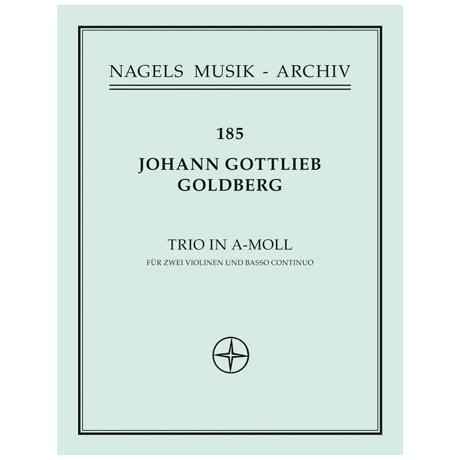 Goldberg, J.G.: Triosonate in a-Moll