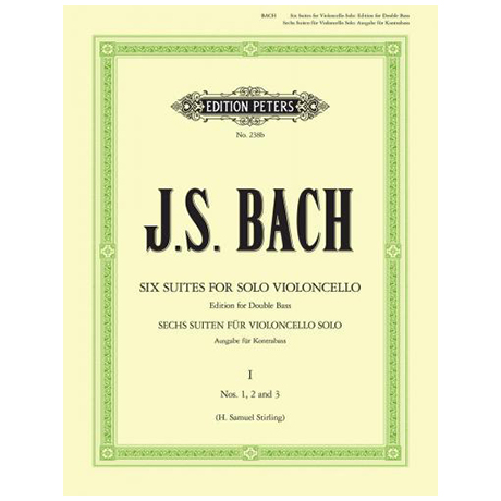 Bach, J.S.: 6 Solosuiten (Cello) Suite 1-3