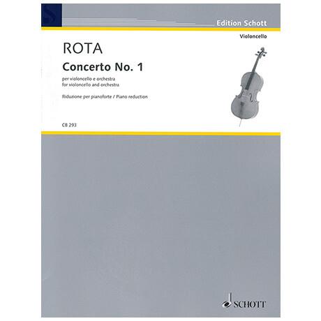 Rota, N.: Violoncellokonzert Nr. 1 (1972)