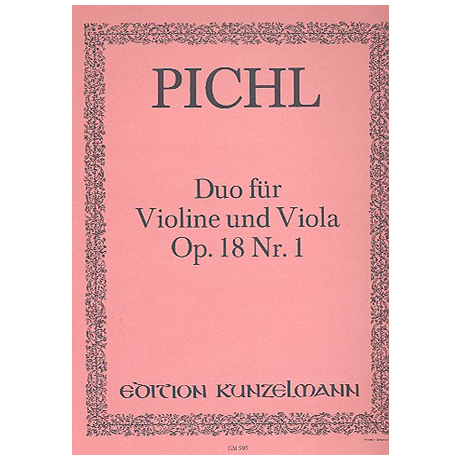 Pichl, V.: Duo D-Dur Op.18,1