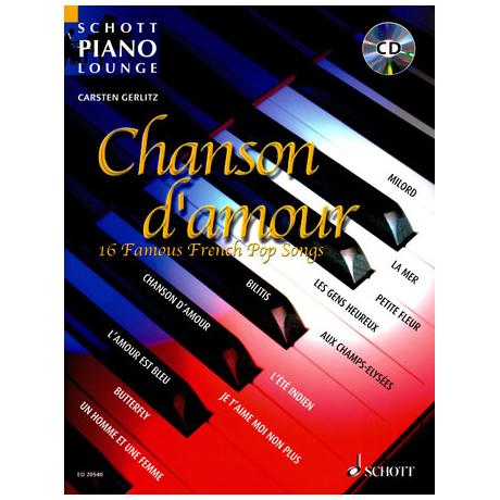 Chanson d'amour (+CD)