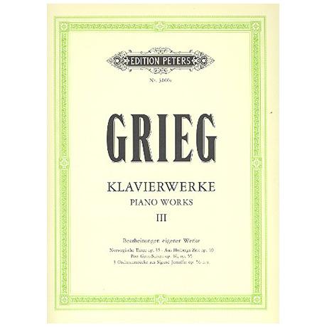 Grieg, E.: Verschiedene Kompositionen III